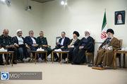 دیدار دستاندرکاران کنگره ۲۰۰۰ شهید بوشهر با مقام معظم رهبری