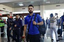 ورود تیم ملی والیبال ایران به اردبیل