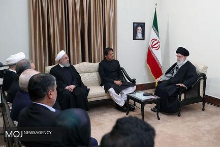 دیدار نخست وزیر پاکستان با مقام معظم رهبری