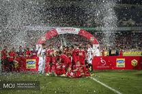 رونمایی از مدال و جام قهرمانی لیگ برتر فوتبال