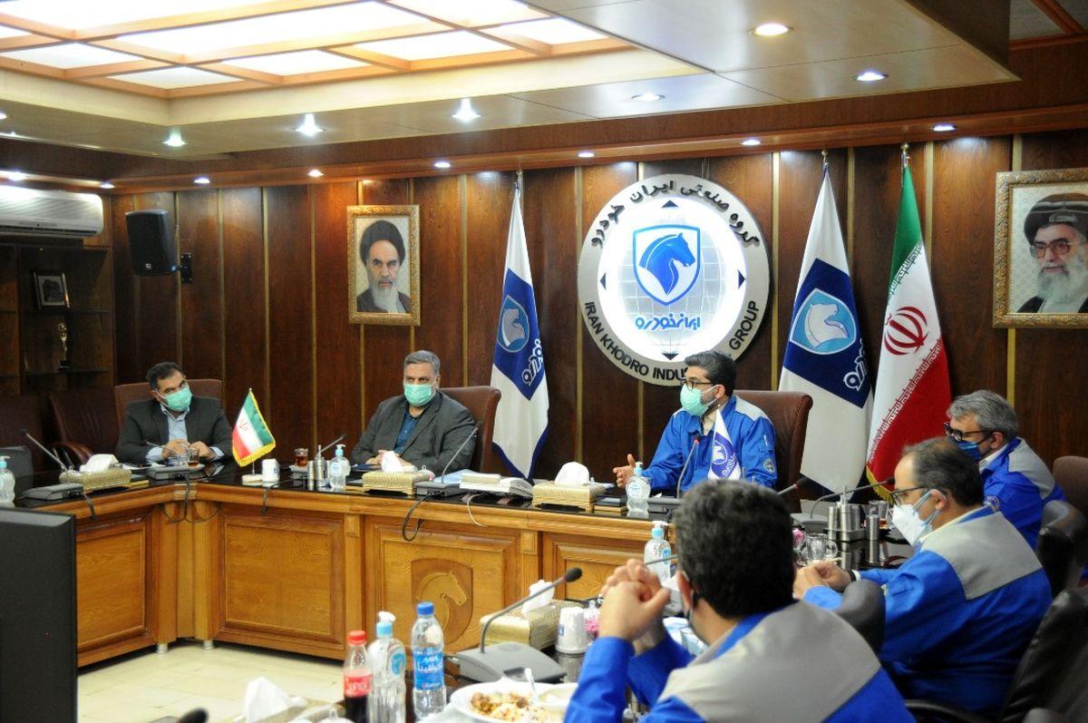 تقویت بومیسازی از اولویتهای گروه صنعتی ایرانخودرو می باشد