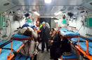 امدادرسانی به مصدومان ادامه دارد/ انتقال 12 مصدوم به مراکز درمانی