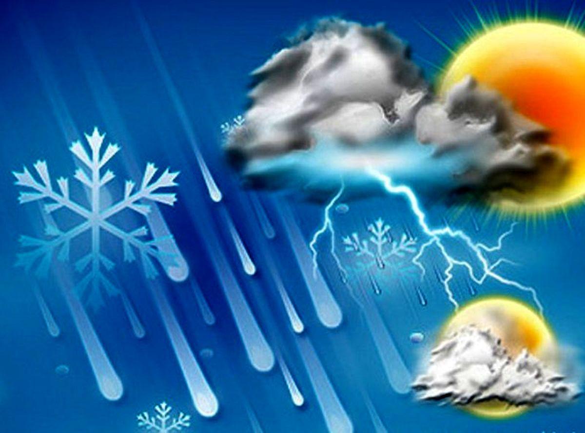 ورود سامانه بارشی جدید به کشور از اواسط هفته