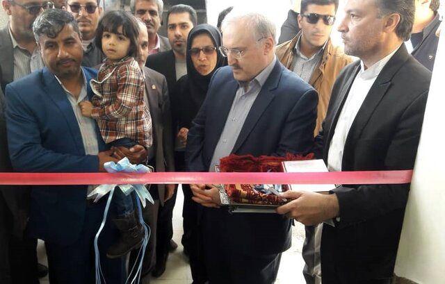 پایگاه اورژانس ۱۱۵ دشتی پارسیان افتتاح شد