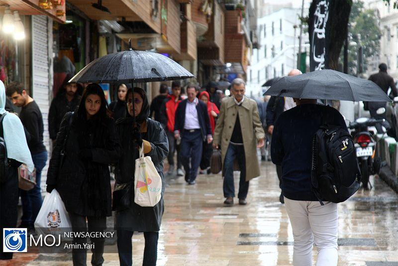 اخطاریه هواشناسی در خصوص فعالیت سامانه بارشی جدید در کشور