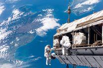 فضانوردان ایستگاه فضایی بینالمللی به پیادهروی میروند