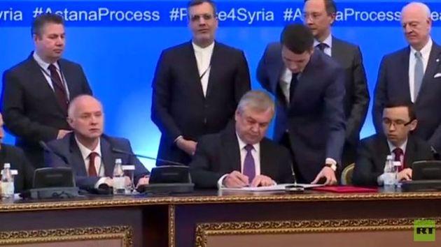 استقبال سازمان ملل از توافقنامه آستانه در مقابل مخالفت شورشیان و ابراز تردید آمریکا