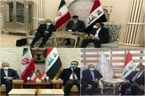 اردکانیان با ۳ نفر از مقام های ارشد عراق در بغداد دیدار کرد