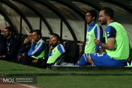 دیدار تیم های فوتبال استقلال تهران و استقلال خوزستان