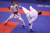 نتایج ملی پوشان کاراته ایران در کاراته وان اتریش