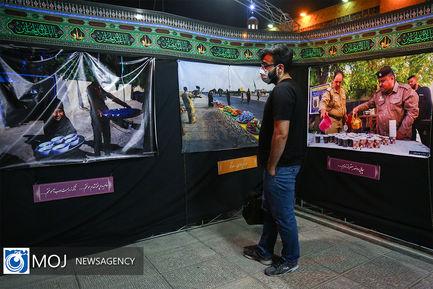 نمایشگاه واقعه نگاری و پرده خوانی در اربعین