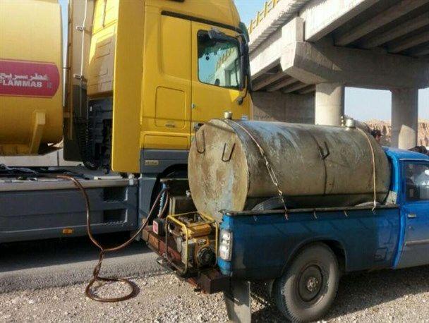 کشف سوخت قاچاق در رودبار