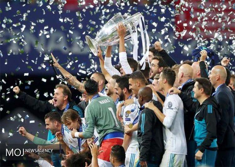 فینال فوتبال لیگ قهرمانان اروپا بین تیمهای رئال مادرید و لیورپول و جشن قهرمانی رئال مادرید در کیف