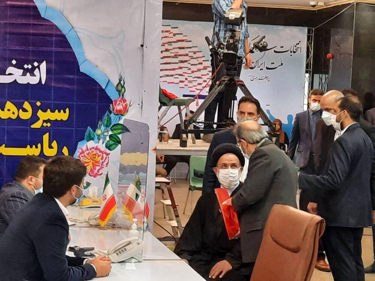 سیدعباس نبوی در انتخابات ریاست جمهوری ثبت نام کرد