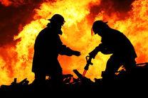 دو آتش نشان جان برکف قم مصدوم شدند