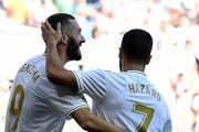 پیروزی رئال مادرید مقابل گرانادا/ هازارد خودی نشان داد