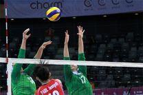 دختران ایران در اولین بازی شکست خوردند