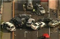 تصادف زنجیرهای 23 خودرو در اتوبان تهران - قم/ امدادرسانی به 40 مصدوم