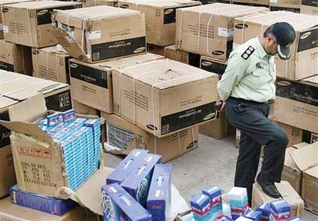 بیش از یک میلیارد ریال کالای قاچاق در اندیمشک کشف شد