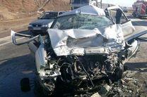 واژگونی خودروی سواری 5 مجروح برجا گذاشت