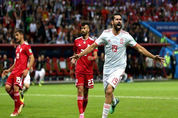 نتیجه بازی ایران و اسپانیا در جام جهانی/ باخت ایران با تک گل تیم اسپانیا