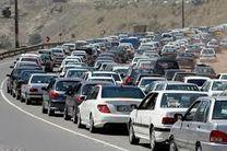 ترافیک سنگین در برخی از محورهای مواصلاتی کشور در دومین روز سال 97