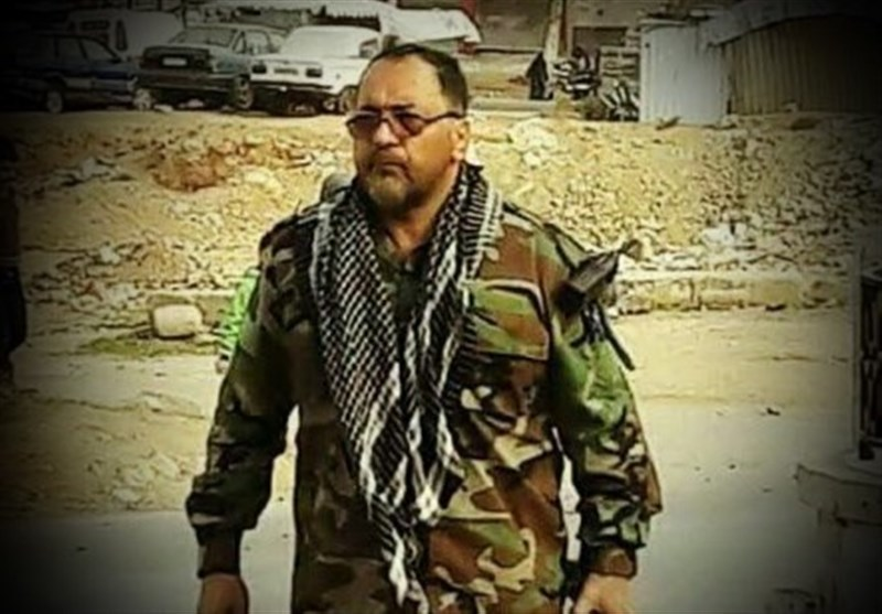سردار دایی پور در بوکمال سوریه به شهادت رسید
