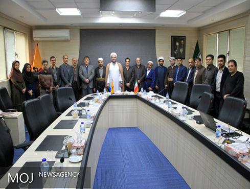 جلسه شورای اقامه نماز شرکت گاز استان کردستان برگزارشد