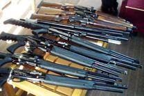 81 قبضه اسلحه غیرمجاز در کرمانشاه کشف شد