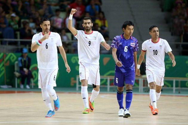 صعود تیم ملی فوتسال ایران به مرحله نیمهنهایی