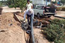 تجهیز شبکه آبیاری برای حذف آبیاری غرقابی و اتصال به شبکه آب خام در شهر یزد