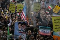 مسیرهای ۱۲ گانه راهپیمایی ۲۲ بهمن اعلام شد