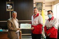 دیدار مدیر عامل جمعیت هلال احمر یزد با مدیر حج و زیارت استان