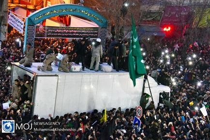 تشییع پیکر سپهبد شهید قاسم سلیمانی در مشهد مقدس