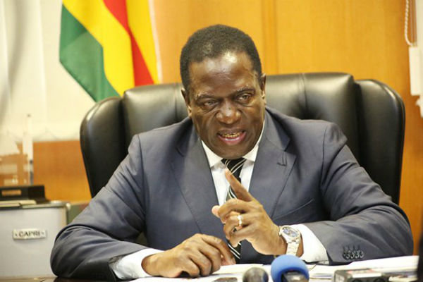 رئیس جمهور جدید زیمبابوه سوگند یاد کرد