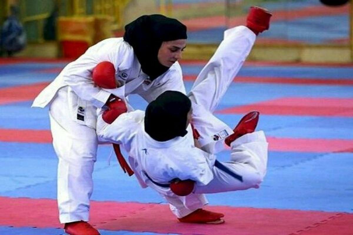 مسابقات انتخابی تیم ملی کاراته بانوان قرعه کشی شد