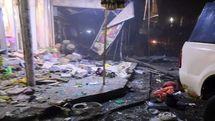 جزئیات انفجار یک موتور سیکلت بمب گذاری شده در بابل عراق