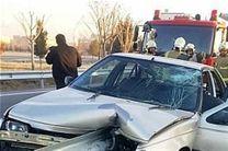 تصادف وانت نیسان با پژو در کمربندی خرمآباد یک کشته و 4 زخمی بر جای گذاشت