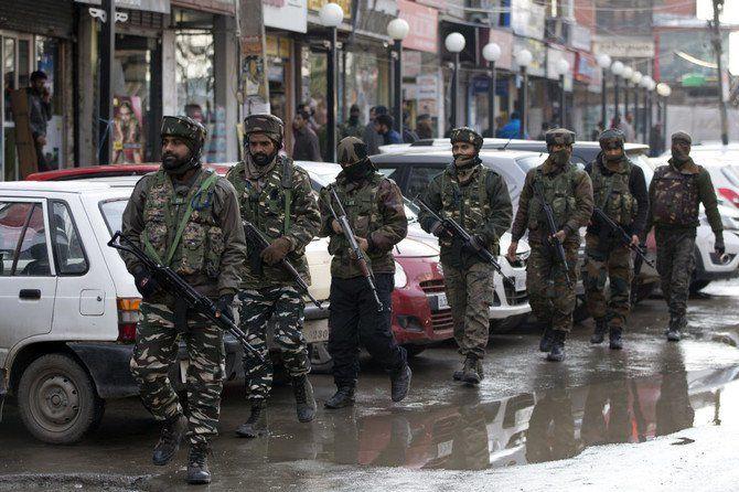 کشته شدن 12 سرباز در کشمیر هند