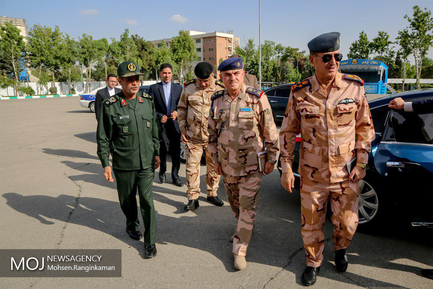 دیدار فرماندهان ارشد نظامی عراق با فرمانده ستاد کل نیروهای مسلح