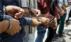 16 نفر از محکومان فراری و سارقان در اردستان دستگیر شدند