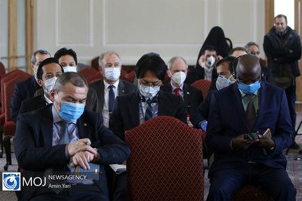 نشست+نمایندگان+سازمان+های+جهانی+و+وزارت+بهداشت+در+خصوص+کرونا