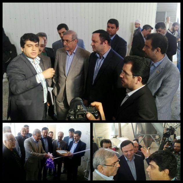 واحد صادراتی سپهر ایرانیان کاسپین در منطقه آزاد انزلی افتتاح شد