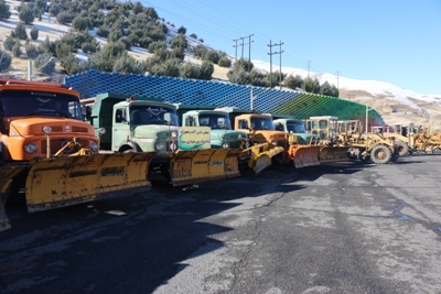 تجهیز پایتخت به ۱۶۲ سایت برف روبی