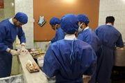 توزیع 220 پرس غذا بین بیماران مبتلا به کرونا در نایین