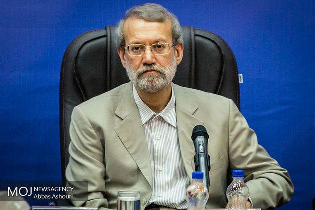 لاریجانی: توافق هستهای زمینههای خوبی برای گسترش فعالیتهای اقتصادی فراهم کرده است