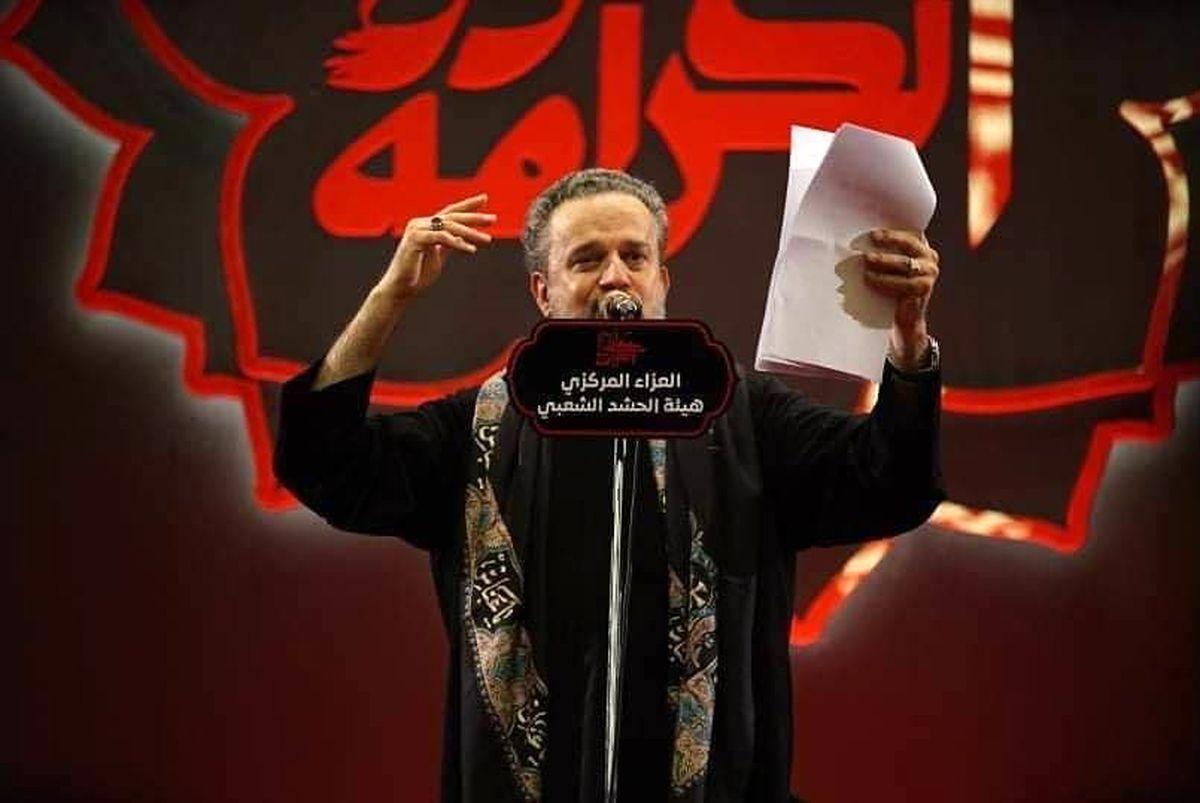 تصویر حاج قاسم سلیمانی در هیئت مرکزی حشدالشعبی +عکس