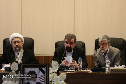 اولین جلسه مجمع تشخیص مصلحت به ریاست آملی لاریجانی