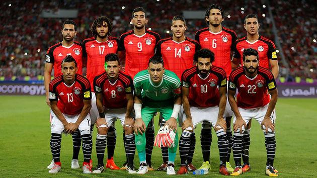 ترکیب اصلی تیم ملی مصر مقابل اروگوئه/صلاح به ترکیب مصر نرسید