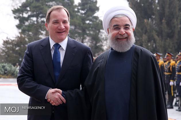 رئیس جمهوری بر استفاده از ظرفیت های خوب برای توسعه روابط دو کشور ایران و سوئد تاکید کرد